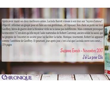 Leçons d'amour #3 – La dame de ses pensées – Suzanne Enoch