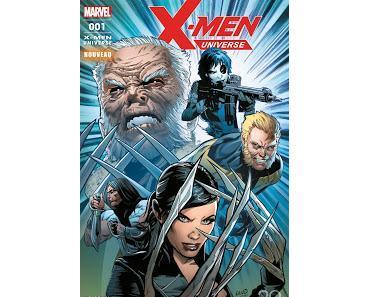 X-MEN UNIVERSE 1 : LE BIMESTRIEL DES MUTANTS CHEZ PANINI COMICS