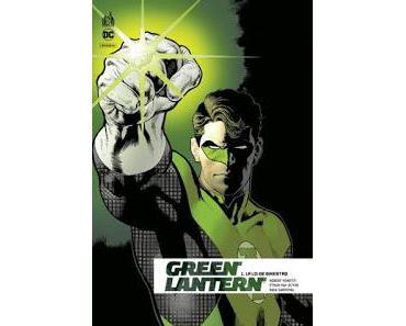 GREEN LANTERN REBIRTH TOME 1 : LA LOI DE SINESTRO