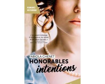 [avis] Honorables intentions de Fabiola Chenet