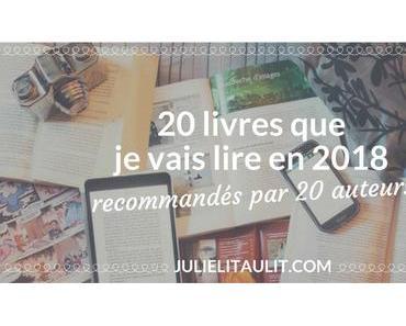 20 livres que je vais lire en 2018