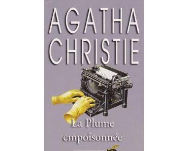 La plume empoisonnée.Agatha Christie.Editions Le Masque.2...