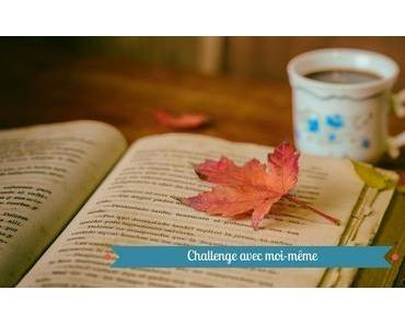 Challenge avec moi-même édition 2018
