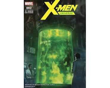 X-MEN UNIVERSE 2 : WEAPONS OF MUTANT DESTRUCTION ARRIVE CHEZ PANINI