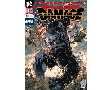 DAMAGE #1 : THE NEW AGE OF HEROES UNE PLAISANTERIE?