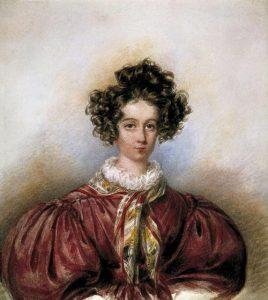 George Sand en 1830, par Candide Blaize