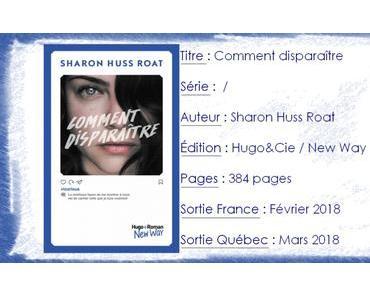 Comment disparaitre de Sharon Huss Roat
