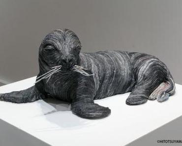 Les sculptures en papier de Chie Hitotsuyama