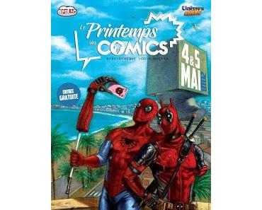 LE PRINTEMPS DES COMICS - PDC2018 LE BILAN DE LA 2°EDITION