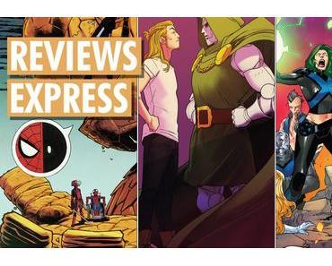 Titres Marvel Comics sortis le 9 mai 2018