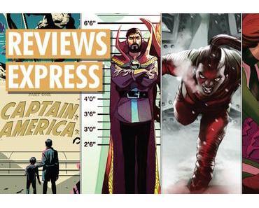 Titres Marvel Comics sortis le 25 avril et le 2 mai 2018