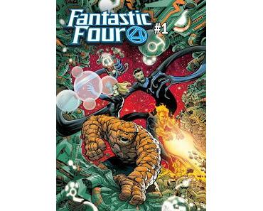 FANTASTIC FOUR #1 : LES F4 SONT (PRESQUE) DE RETOUR AVEC DAN SLOTT