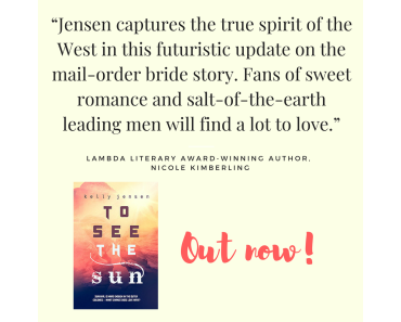 Release Day Blitz ~ To see the sun by Kelly Jensen