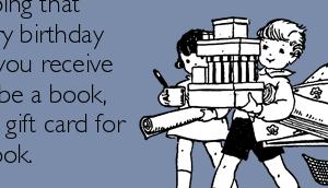 marque-page cadeau d'anniversaire pour booklovers