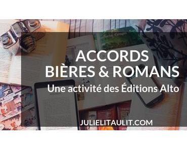 Accords Bières & Romans : Une activité des Éditions Alto
