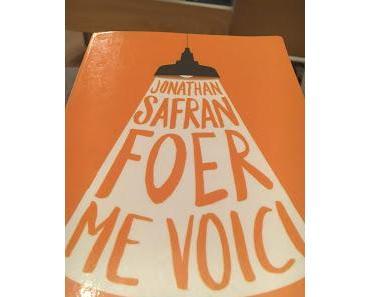 Me voici, Jonathan Safran Foer