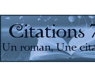 Citations #7 : Un roman, Une citation...