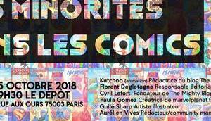 Minorités dans Comics, conférence organisée Centre LGBT Paris