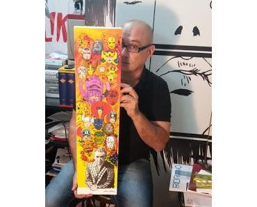 """""""OH MY GODS!"""" MASTER OF COMIC ART. LA NOUVELLE FOLIE GENIALE DE LARRY CAMARDA"""
