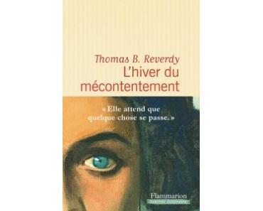 L'hiver du mécontentement de Thomas B. Reverdy