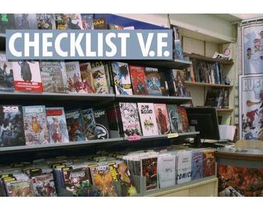 Checklist Comics V.F. de Décembre 2018