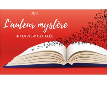 Jeu : auteur mystère #16