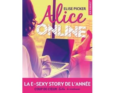 Ma ChRoNiQuE – Alice Online d'Elise Picker