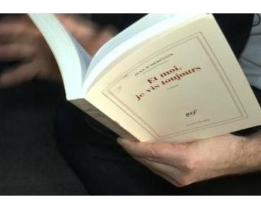 Chronique de lecture : Et moi, je vis toujours de Jean d'Ormesson