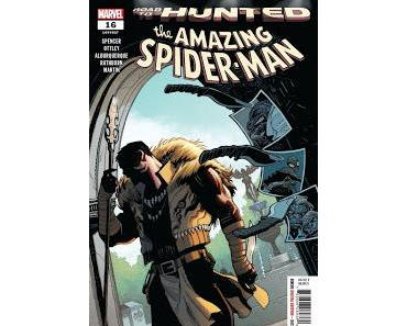 """THE AMAZING SPIDER-MAN #16 : LE PRÉLUDE À """"HUNTED"""""""