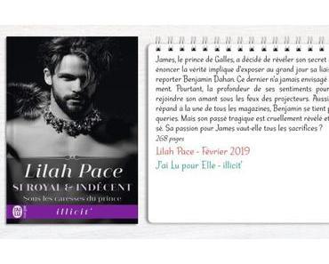 Si royal et indécent #2 – Sous les caresses du prince – Lilah Pace