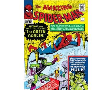 OLDIES : THE AMAZING SPIDER-MAN #14 (1964) VOICI VENIR LE BOUFFON VERT