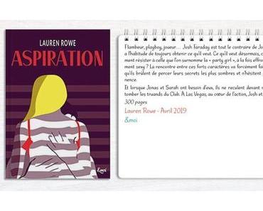 Kat & Josh #1 – Aspiration – Lauren Rowe