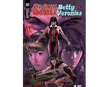 RED SONJA AND VAMPIRELLA MEET BETTY AND VERONICA : GIRLS POWER CHEZ DYNAMITE!
