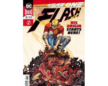 THE FLASH #70 : YEAR ONE CHAPTER 1