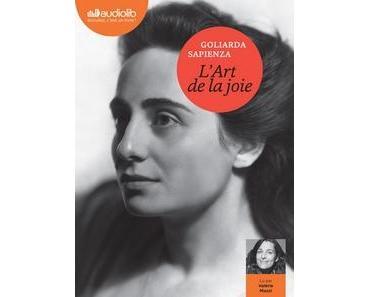 L'art de la joie lu par Valérie Muzzi #PrixAudiolib2019
