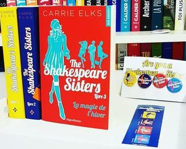 La magie de l'hiver | Carrie Elks (The Shakespeare sisters #3)