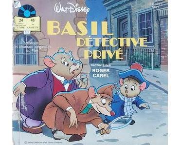 Livre-disque – Basil, détective privé raconté par Roger Carel