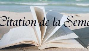 Citation Semaine