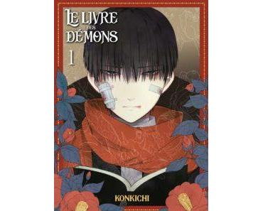 Le Livre des Démons Tome 1, «Mononobe Koshoten Kaikitan» (Konkichi) – Komikku Editions – 7,99 €