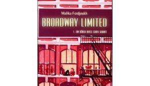 Broadway Limited, tome dîner avec Cary Grant Malika Ferdjoukh