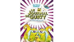journal Gurty bébés dinosaures Bertrand Santini