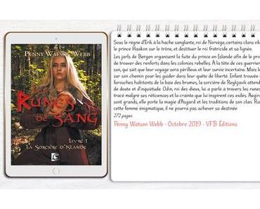 Les Runes de Sang #1 – La Sorcière d'Islande – Penny Watson-Webb
