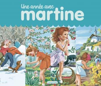 """""""Une année avec Martine"""" de Gilbert Delahaye et Marcel Marlier"""