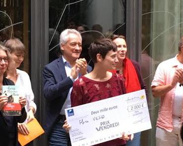 Le prix Vendredi 2019 à Flore Vesco