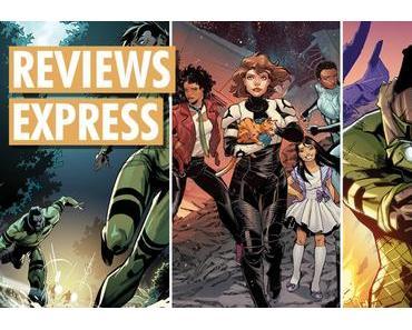 Titres de Lion Forge Comics sortis en octobre 2019