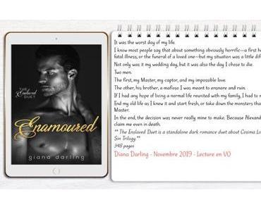 The Enslaved #2 – Enamoured – Giana Darling (Lecture en VO)