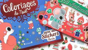 D'adorables activités Noël avec éditions Gründ