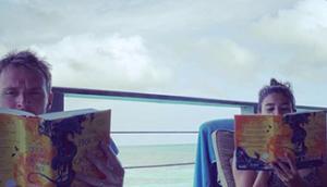 Lecture commune Prieuré l'Oranger avec mari Maldives