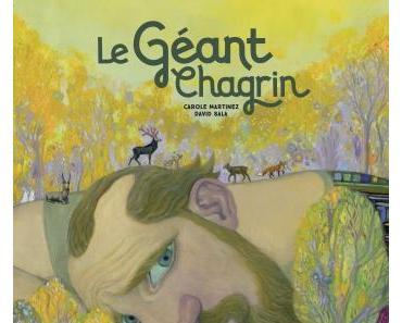 """""""Le géant chagrin"""" de Carole Martinez et David Sala"""