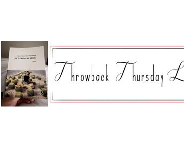 Throwback Thursday Livresque n°36
